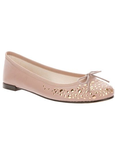REPETTO Studded Ballet Flat