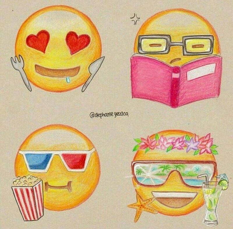 Emoji S Drawing Emoy Zwgrafikh Zwgrafies A Sxedio