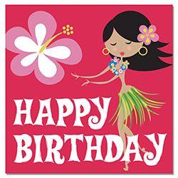 Hawaiian hula girl lantern garland pinterest hula girl hula and desertrosehula girl happy birthday m4hsunfo