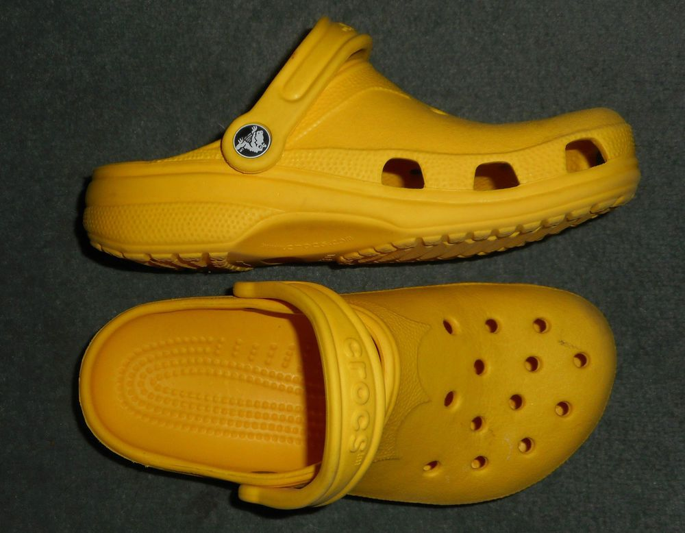 b0ed03a5dbe75 Women s Yellow CROCS Slip On Clogs Comfort Shoes