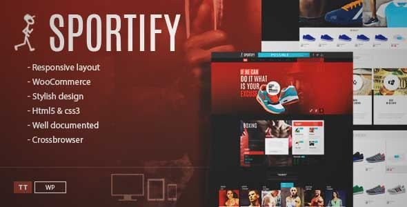 Download and review of Sportify - Gym WordPress Theme, one of the ...
