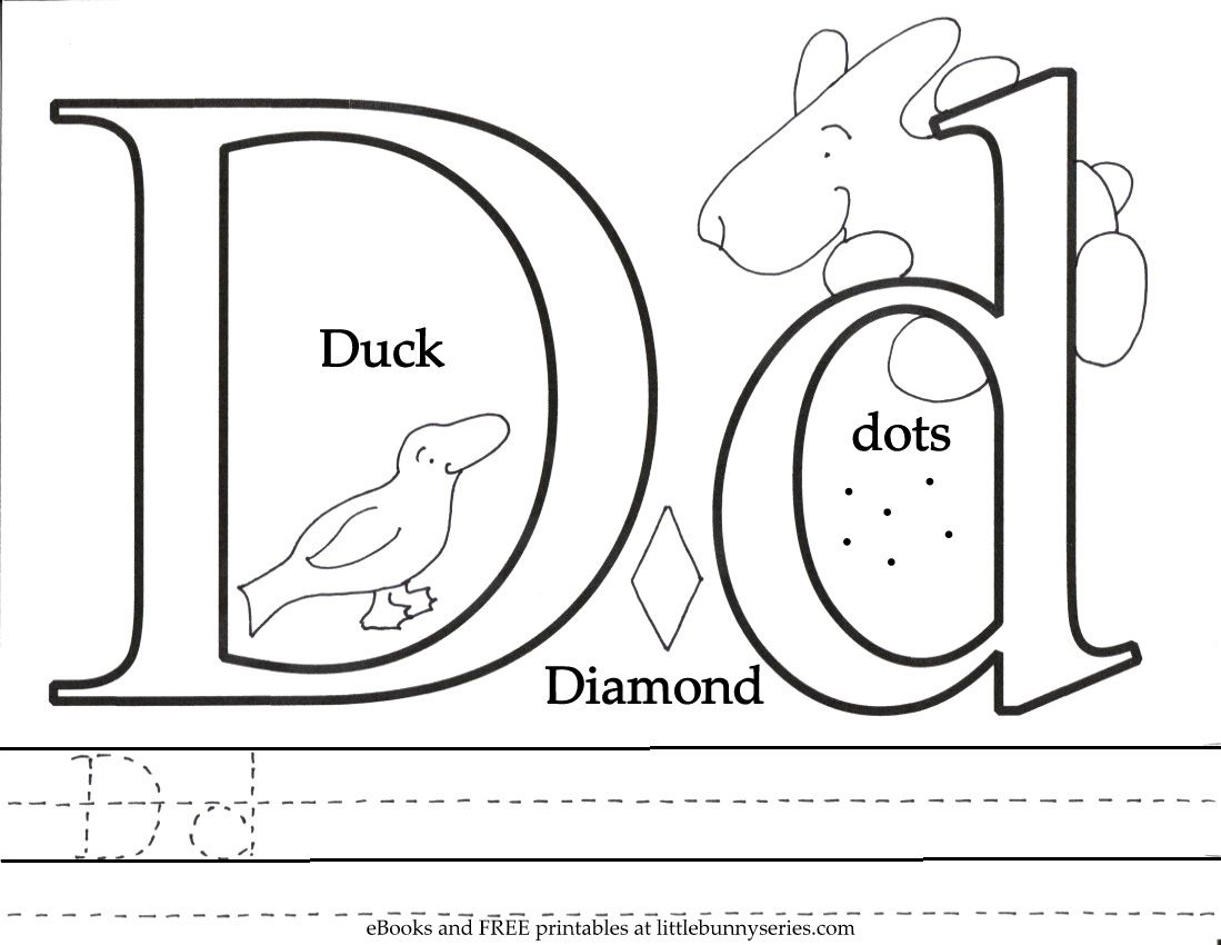 Letter D Coloring Page Pdf Letter A Coloring Pages Alphabet Coloring Pages Letter C Coloring Pages