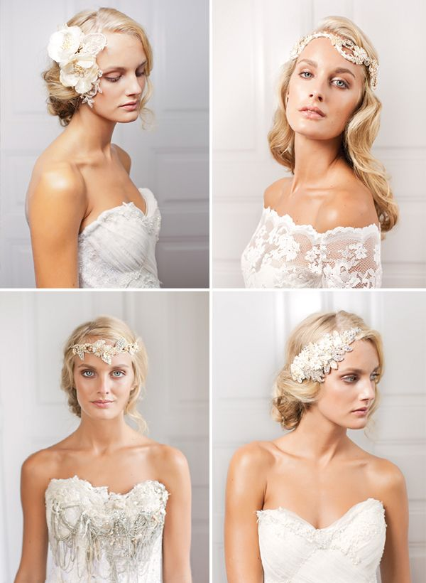 couture bridal hair accessories - Google Search