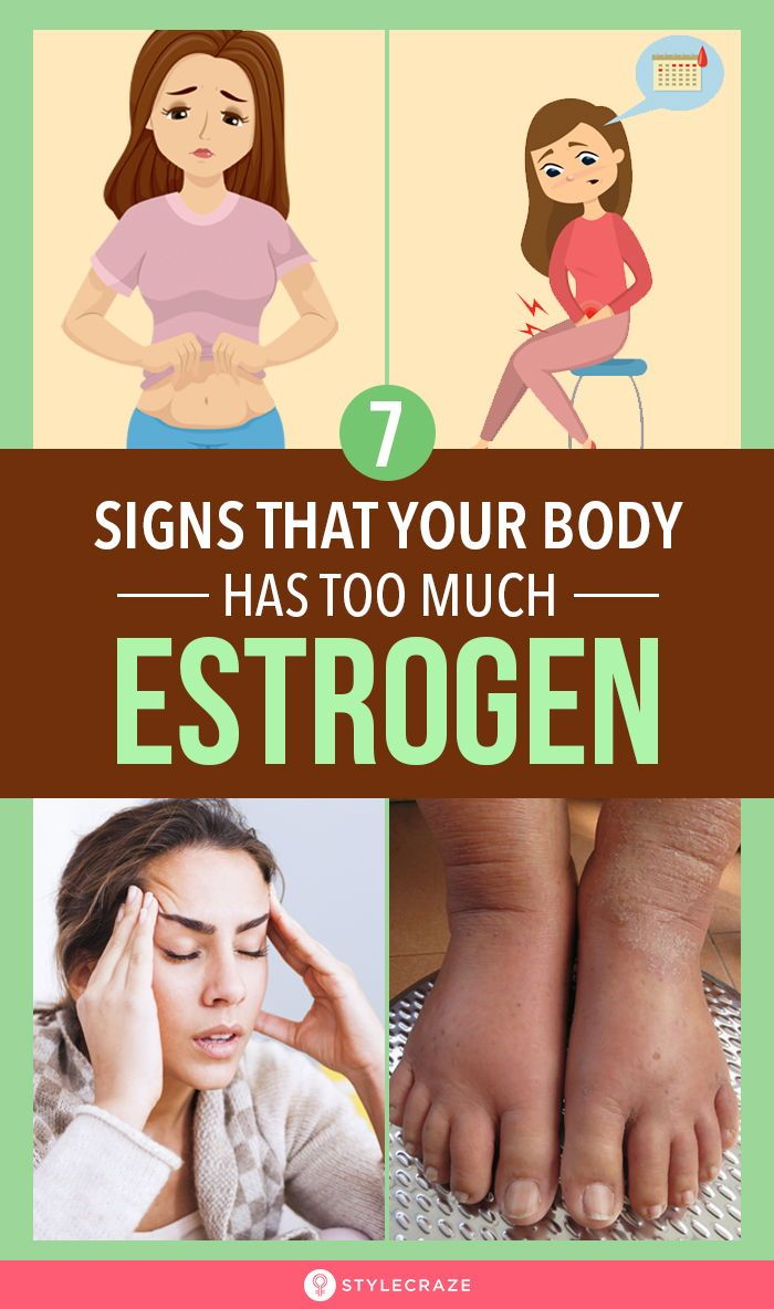 10 Signs That Your Body Has Too Much Estrogen, Whi