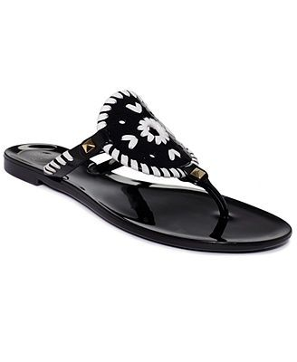 Jack Rogers Georgica Thong Jelly Sandals