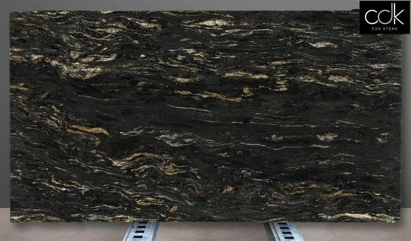 Review Cosmic Black granite arriving in Sydney in either a polished image or Leathered Inspirational - Unique black granite In 2019
