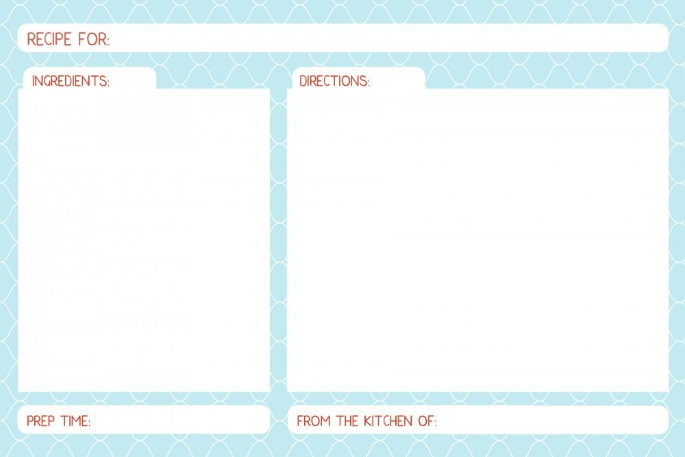 Bon Appetit Recipe Cards Freebie Bizuza Printables Recipe Cards Template Recipe Cards Organize Recipes Cards