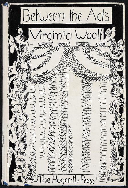 Between The Acts Cover Hogarth Press Book Jacket Designs Virginia Woolf Vanessa Bell Virginia