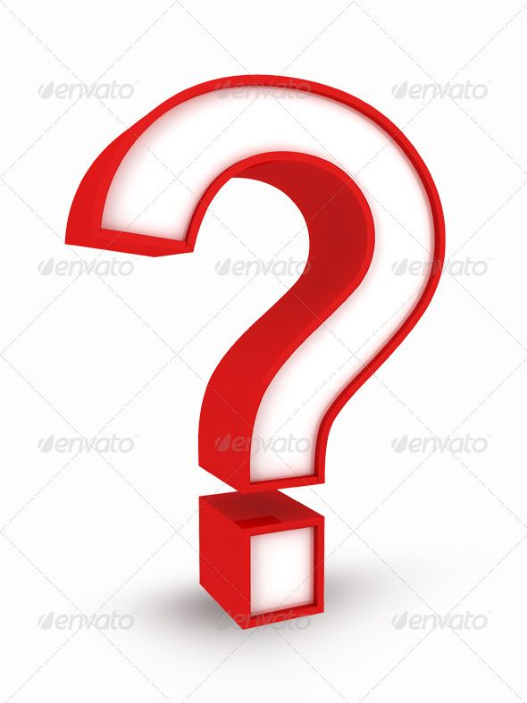Question Mark In 3d Question Mark Icon This Or That Questions Red Color Background