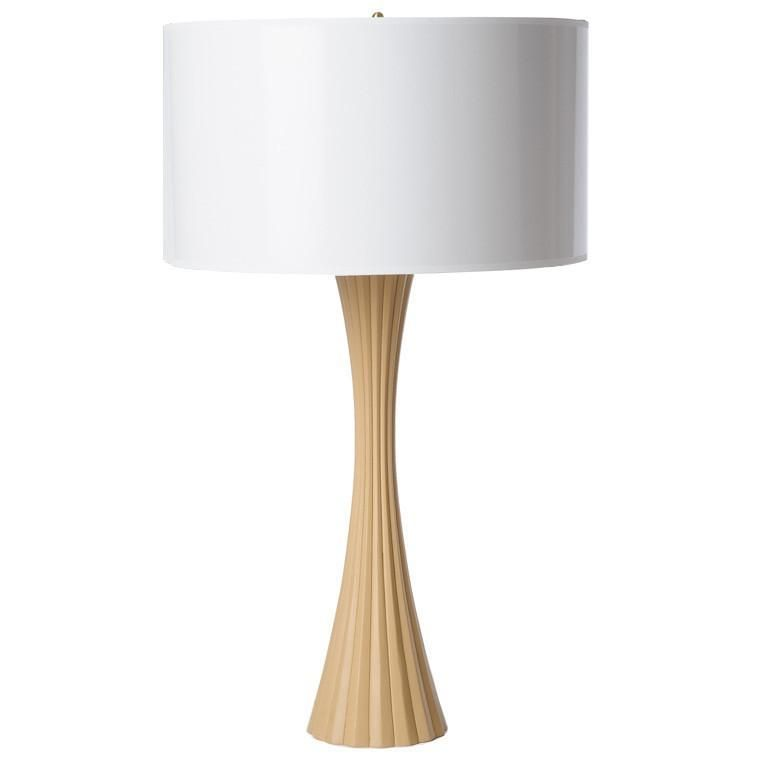 Barbara cosgrove fluted table lamp