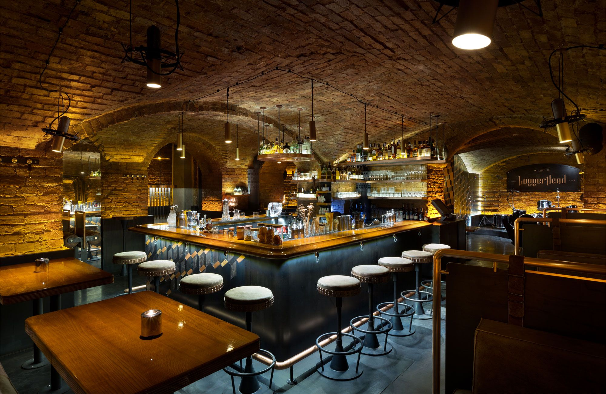 LoggerHead speakeasy bar by YOD design studio | Restaurants, Bars ...