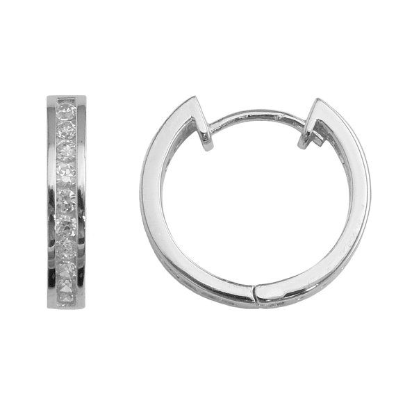 SH91s Sterling Silver brilliant cut Cubic Zirconia by SilverNStyle, $26.99