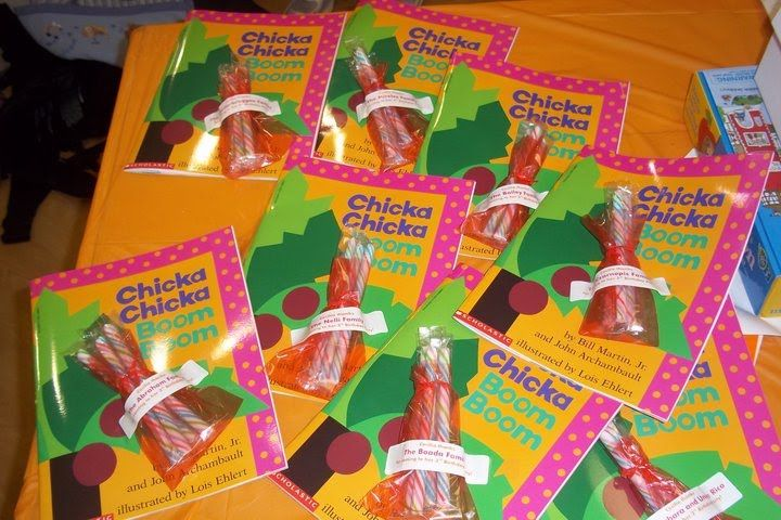 Abc Party Favors: Chicka Chicka Boom Boom Birthday Party Take Home Favors