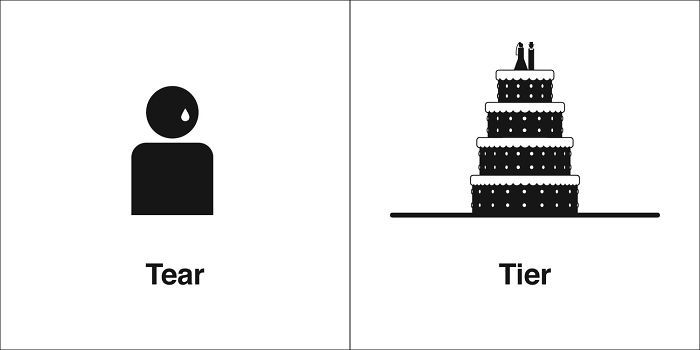 269 Clever Illustrations Of 'Same' Words That You Probably