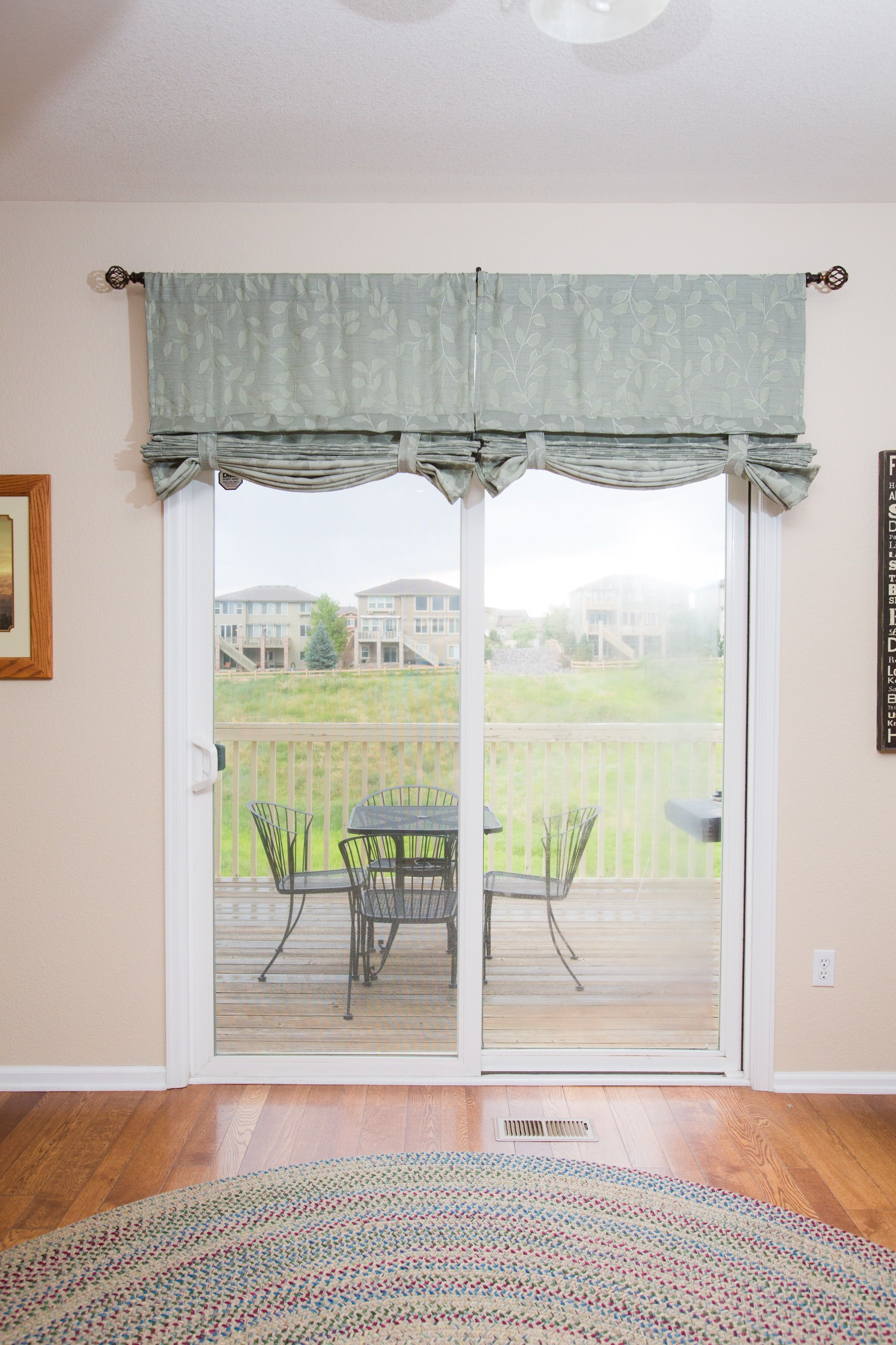 Versatile Sliding Glass Door Curtain It S A Shade And Curtain All