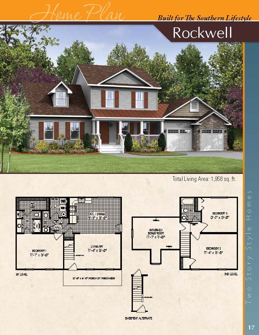 The Rockwell A Two Story Styled Home House Styles House Floor Plans Floor Plans