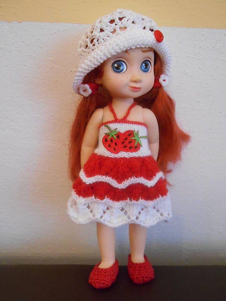 Hračky - sada jahoda - oblečenie pre bábiku - 10 ks - 6325265_