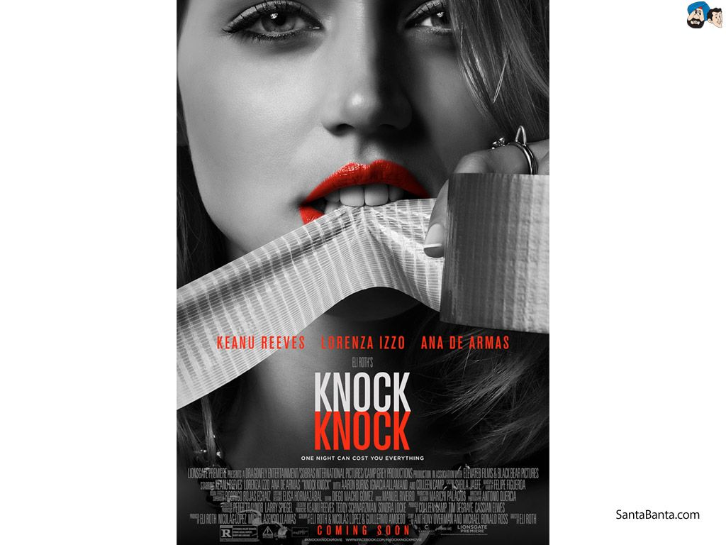 knock knock 2015 movie poster