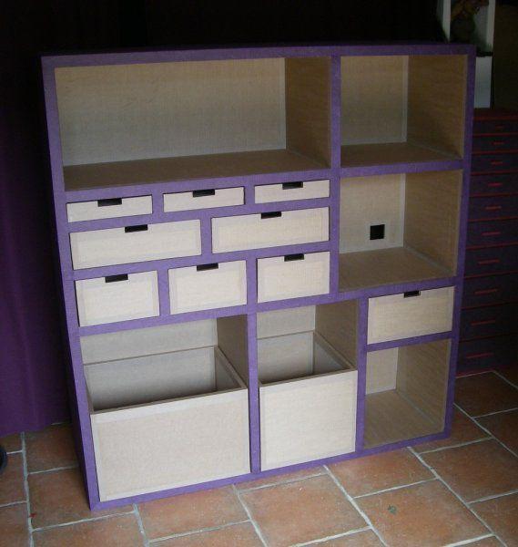 Meuble Loisirs Creatifs Cardboard Storage Cardboard Furniture Diy Storage
