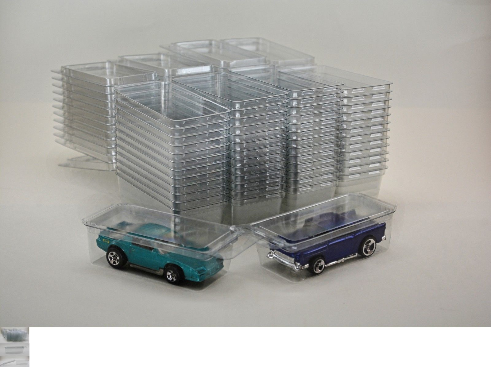 50 Hot Wheels Plastic Car Cases Diecast 1 64 Boxes Brand New Clamshells Hot Wheels Clamshell Box Branding