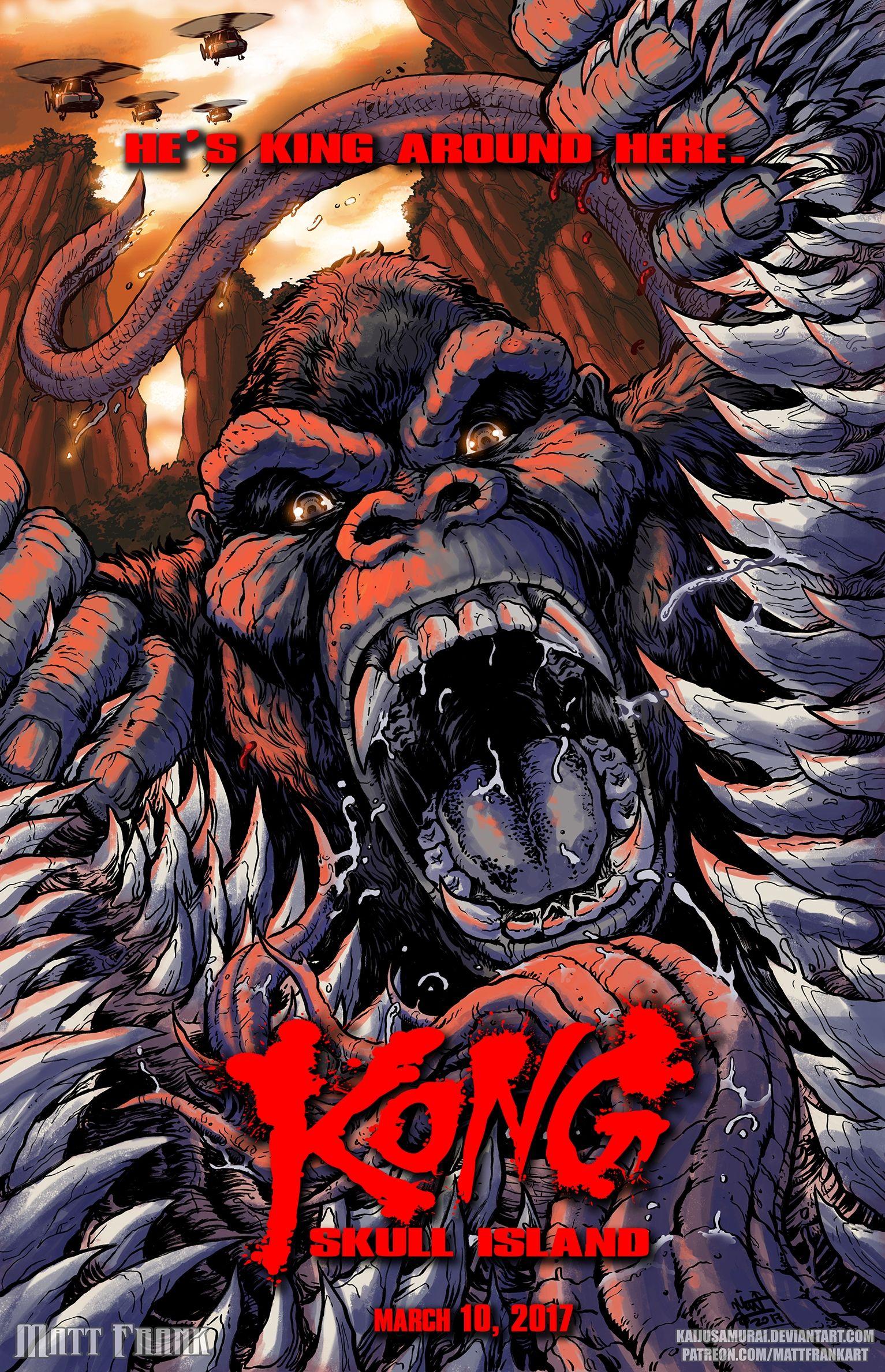Kong skull island soundtrack on cd - King Kong Skull Island Matt Frank