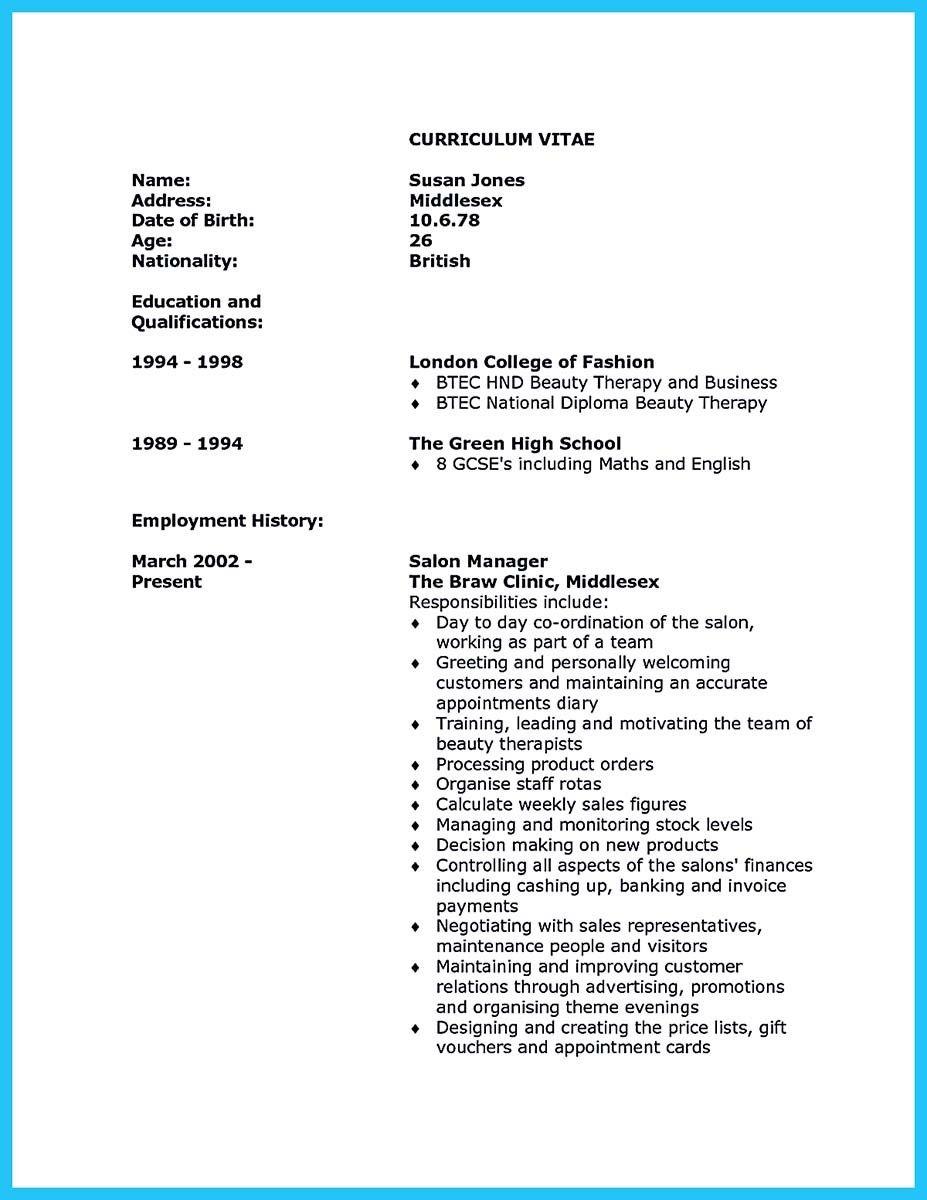 beauty advisor resume samples visualcv database. job description for ...