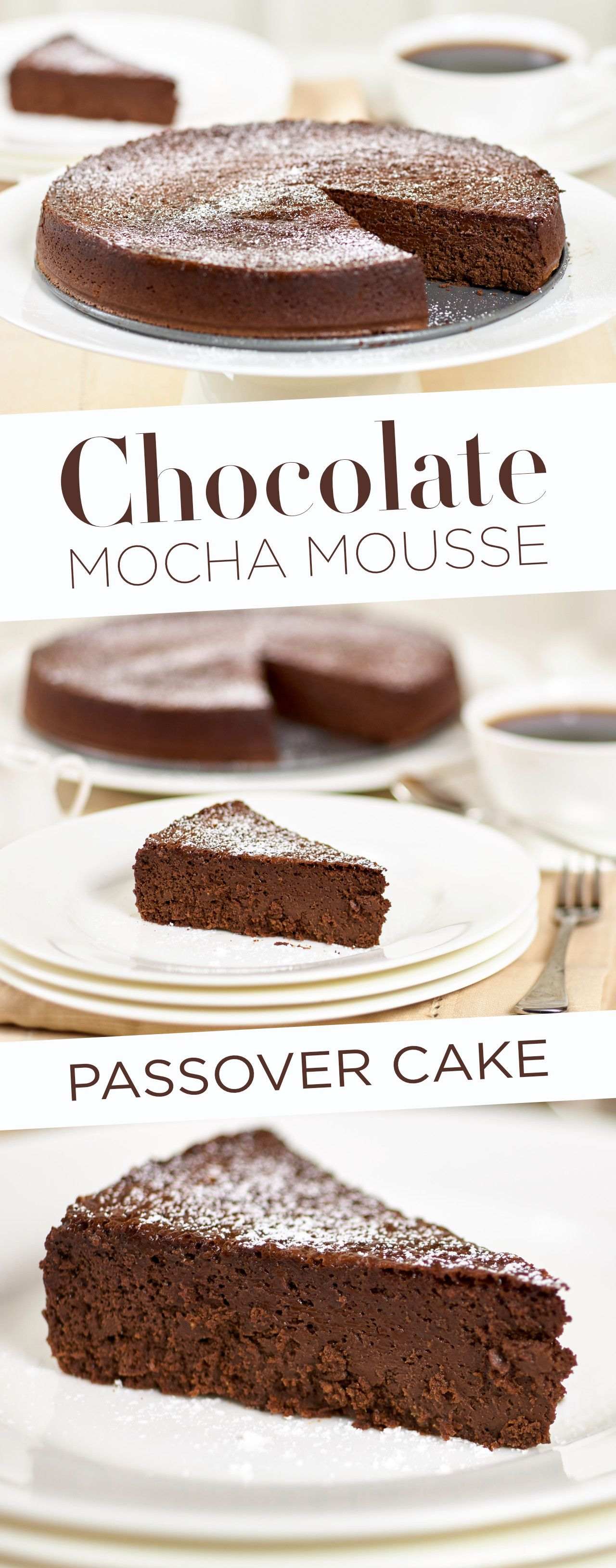 Chocolate mocha mousse passover cake recipe cake