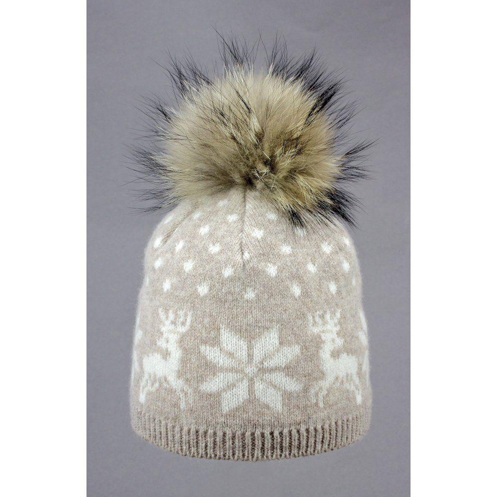 4db99bf1ee3 Steffner Nordic Womens Ski Hat In Light Brown