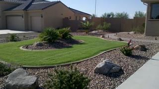 High Desert Front Yard Landscaping Picture Gallery Arizona Living