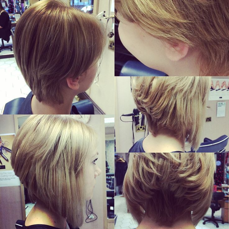 Grown out pixie cut made into concave bob using hair extension grown out pixie cut made into concave bob using hair extension micro loop pmusecretfo Images