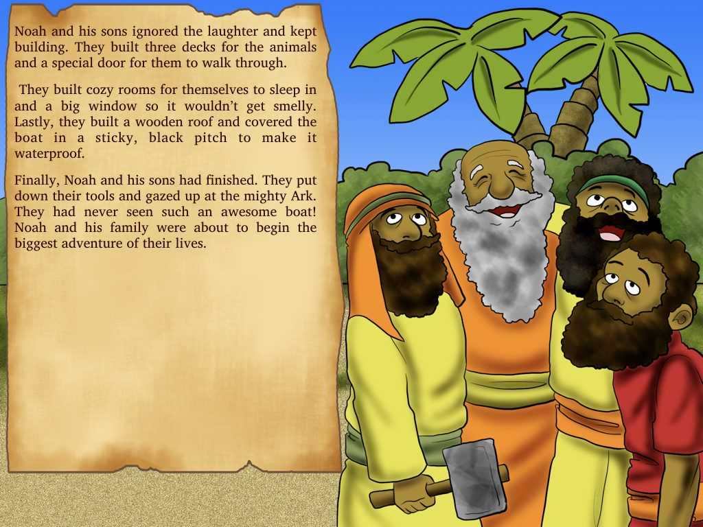 noah u0027s ark bible story the great flood ark