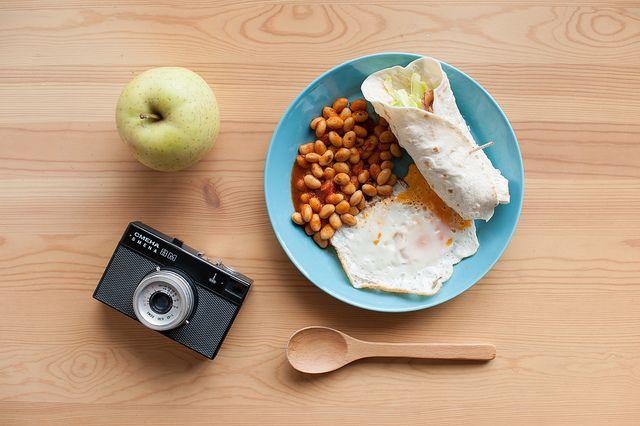 LOMO SMENA 8M   #apple #fruit #lomo #smena #camera #iittala #food #meal #tacos #cafe