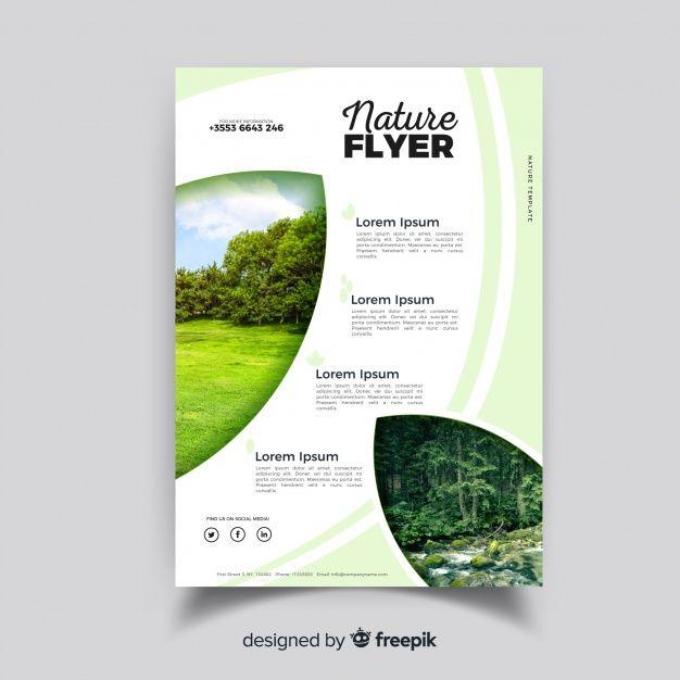 Telechargez Modele De Flyer Nature Avec Un Design Moderne Gratuitement Graphic Templates Search Engine