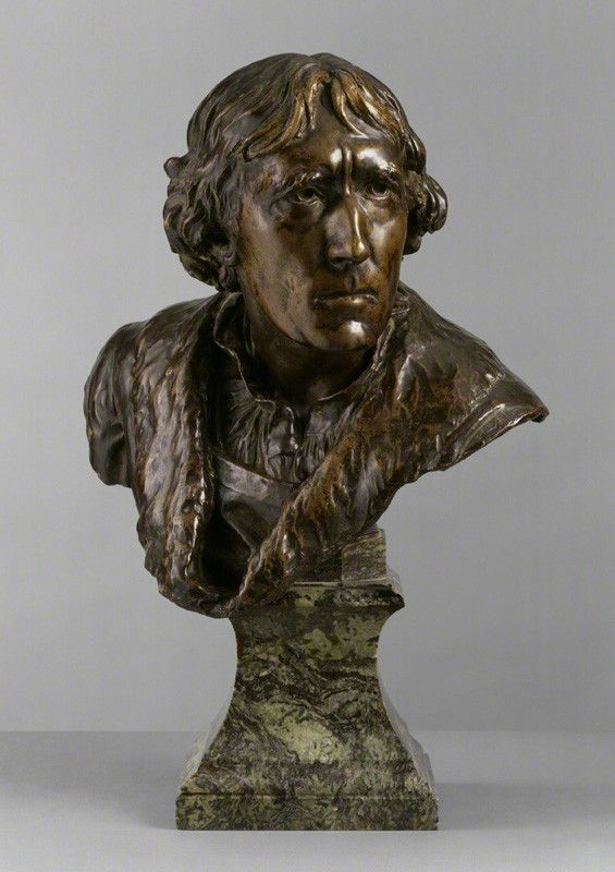 Bust of Henry Irving as Hamlet, National Portrait Gallery