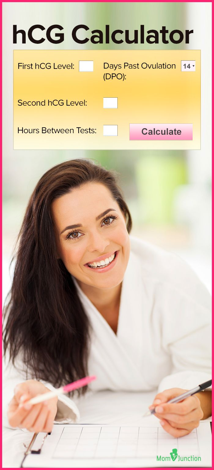 Hcg Calculator Baby Pinterest Pregnancy Pregnancy Care And