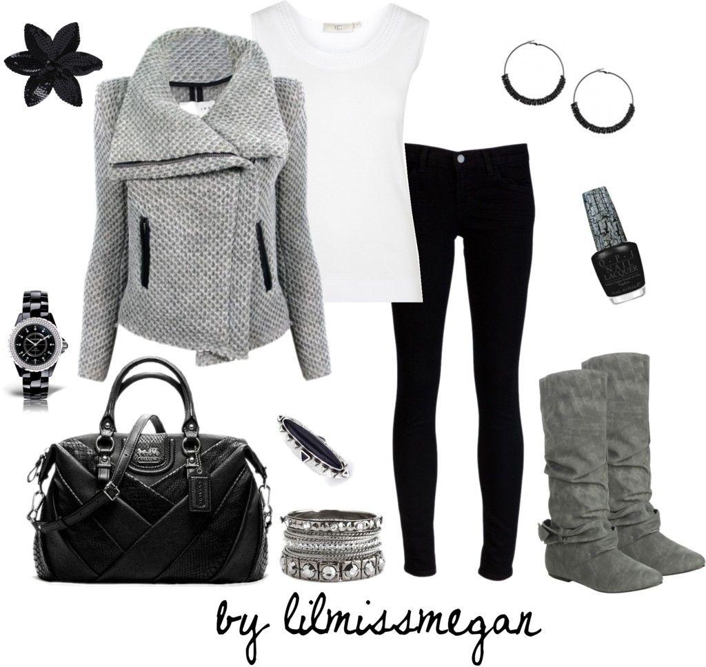 Black & Grey - Polyvore