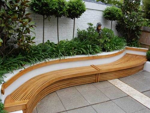 Exterior Curved Bench - Wooden Bench Manufacturer and Wholesale Supplier  from Paul Deakin Furniture, Uk