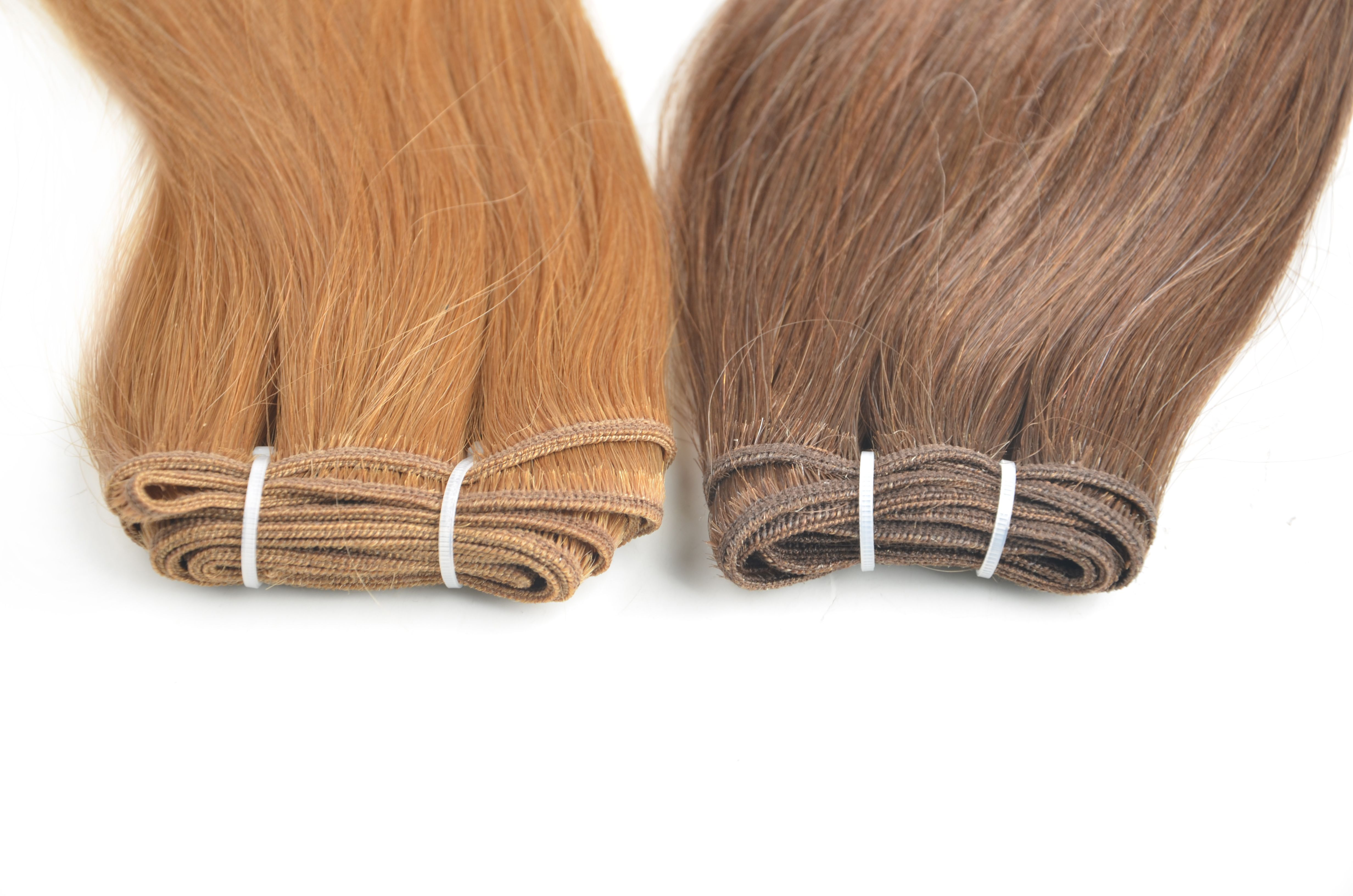 Hair Weft Is Simply Hair That Is Sewn Together In A Continuous Strip