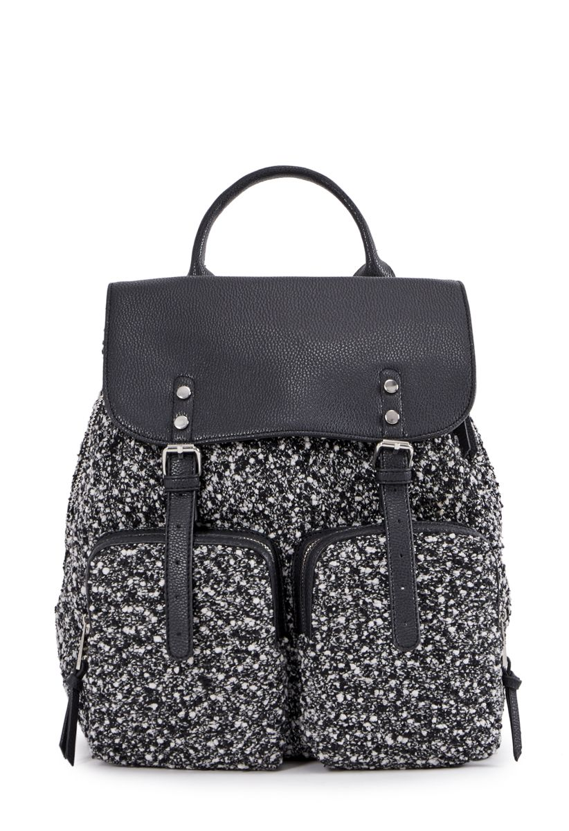 ShoeDazzle Bags Damian Backpack Womens Black Gray Size One Size Fits Most c718adee6d