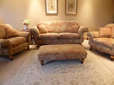 Stonehouse Buckingham Sofa Two Chairs