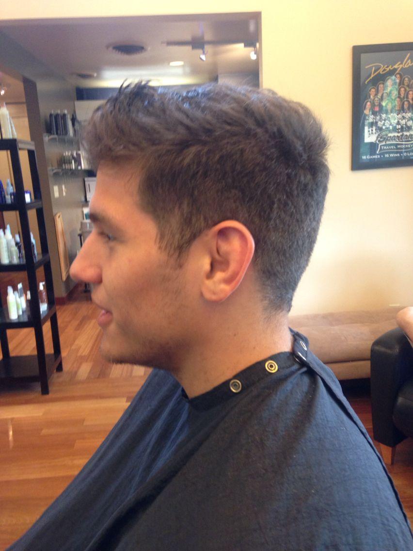 PRACTICE scissor over comb Haircuts for men, Cool