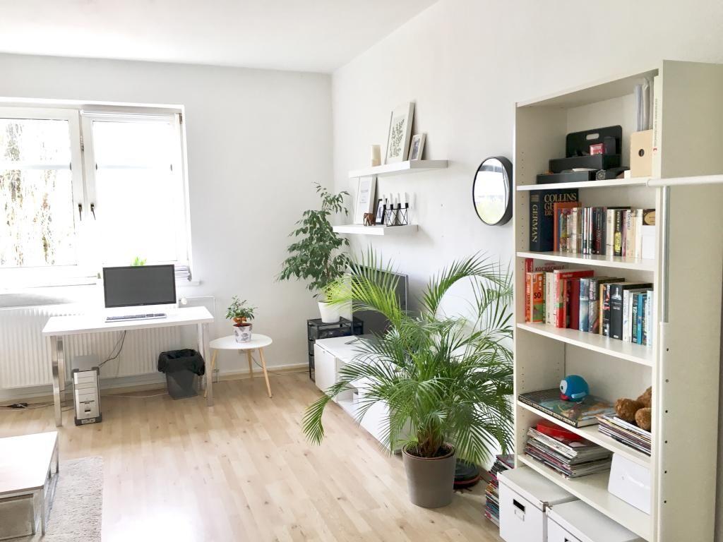 Wohnzimmer mit Homeoffice-Bereich.#Einrichtung #Homeoffice ...