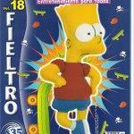 Revista de Fieltro con patrones y moldes para complementos de moda, incluyendo personajes de La Bella y la Bestia, Tiger, Hello Kitty, Bart Simpson, etc.