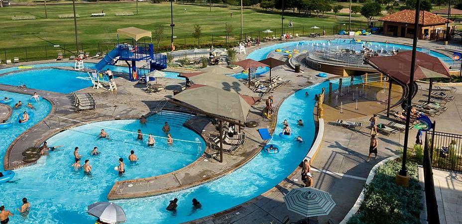 Lazy Resort Texas Pools River