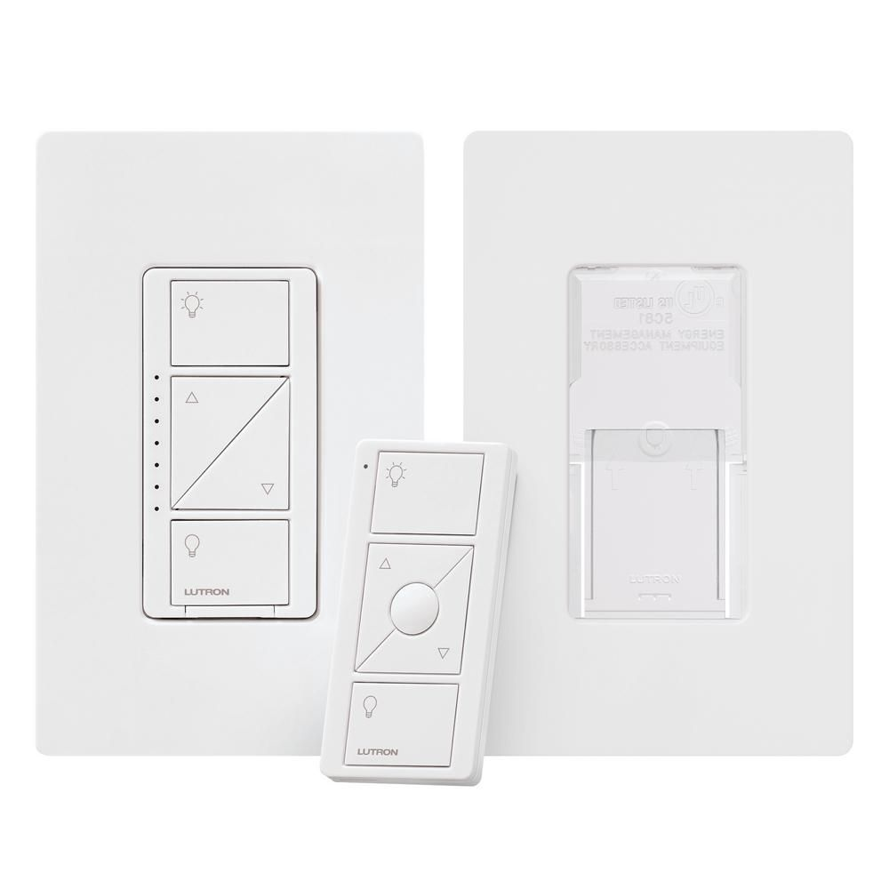 Lutron Caseta Wireless Smart Lighting Dimmer Switch and Pico Remote