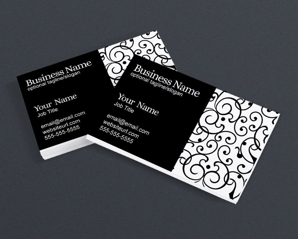Business card design black and white elegant ps1 printable business card design black and white elegant ps1 printable business card magicingreecefo Gallery