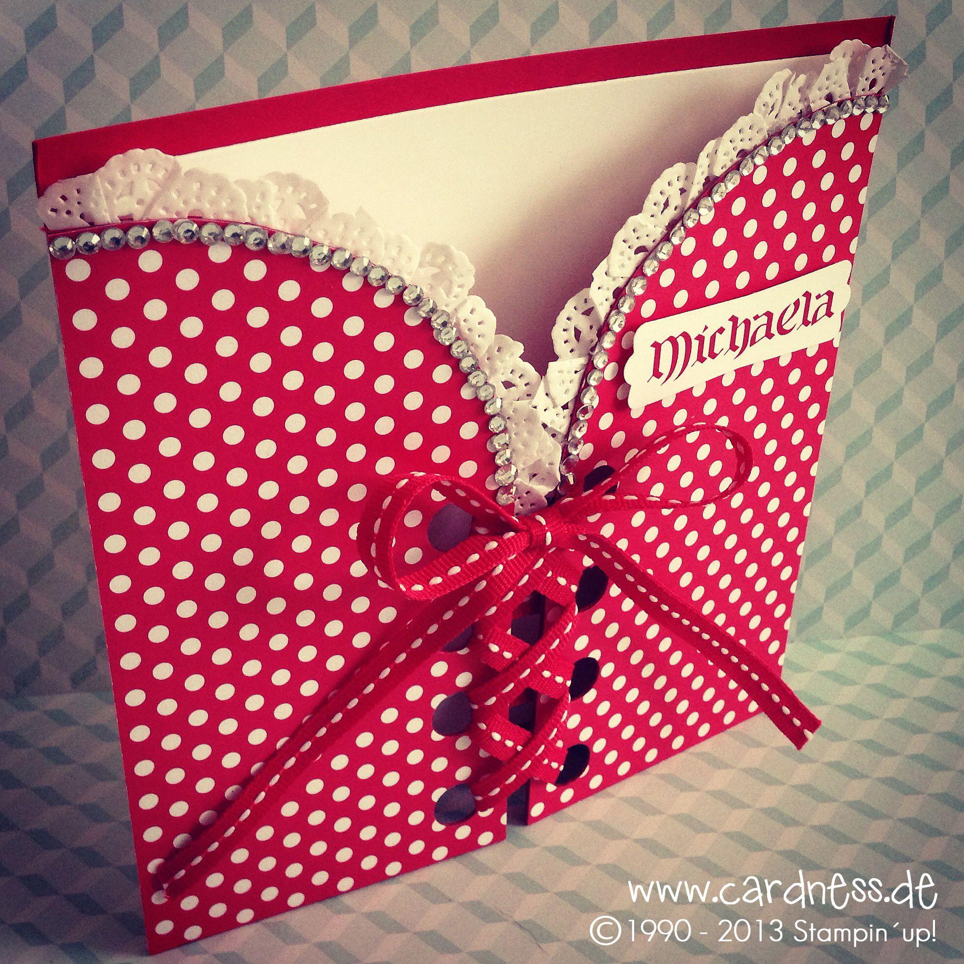 Geburtstagskarte Basteln Frau.Geburtstagskarte Dirndl Cards Karten Basteln
