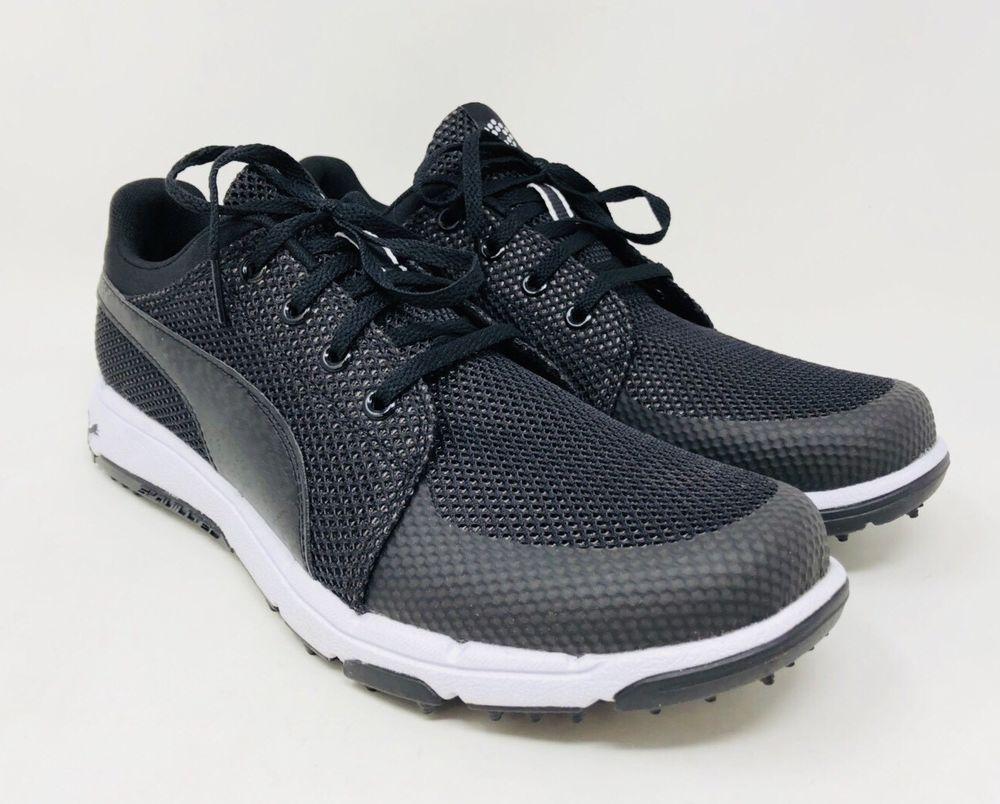 1da7a5cde16421 Puma Golf Grip Sport Tech Men s Spikeless Golf Shoe-Black Pick A Size  Pre-Owend (eBay Link)