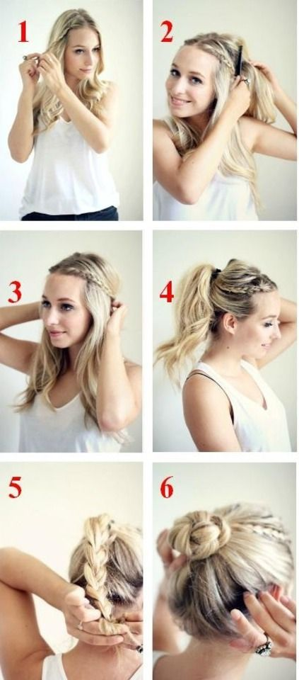 Easy Updo Work Hair Hair Styles Long Hair Styles Hair Beauty