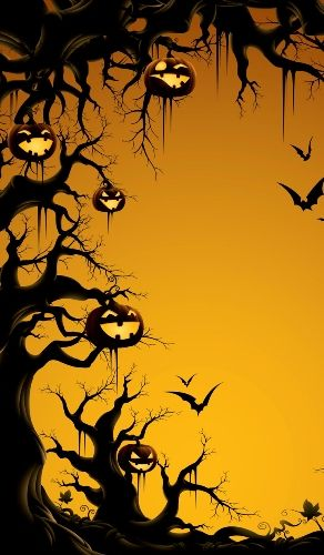 Pin By Halloween Quotes Costumes De On Happy Halloween Wallpapers Iphone Scary October Backgrounds Halloween Wallpaper Spooky Halloween Pictures Spooky Halloween Decorations